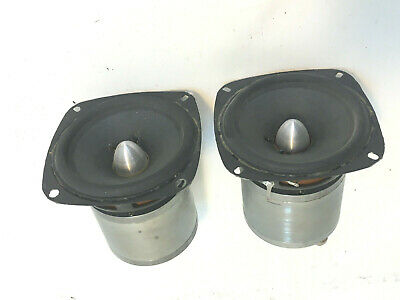 Custom Prototype Pair Of 4 Inch Field Coil Speakers For Nearfield Application