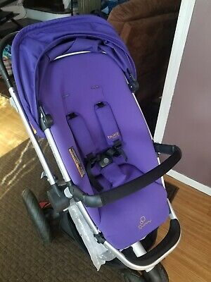 Quinny Buzz Xtra 2.0 Stroller Purple Pace New!!