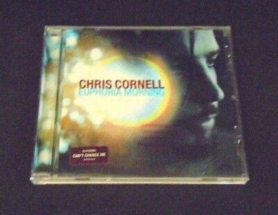 Chris Cornell Euphoria Morning Rare Promo Copy CD 1999 Never Been Used