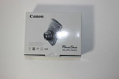 Brand New Canon PowerShot ELPH 160 / IXUS 160 20.0MP Digital Camera - Black