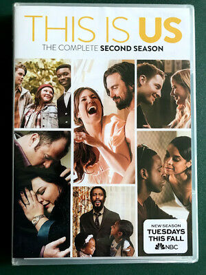 This Is Us, Season Two, SEALED, 5 DVDs, FREE SHIPPING, Mandy Moore, Ohio seller