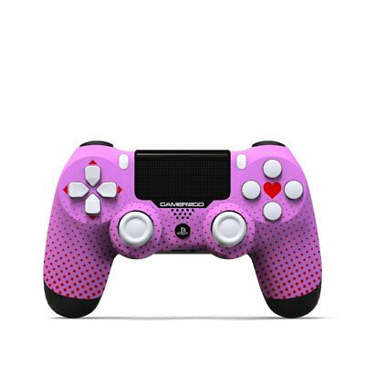 Sony Dualshock4 Wireless Sony PS4 Custom Controller  Pink Rebel for Playstation4