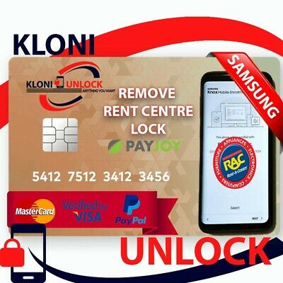 Remote  SERVICE SAMSUNG DEMO MDM PAYJOY PINCODE LEASED REMOVE