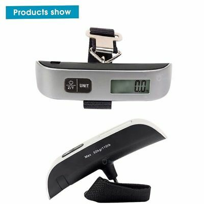 50Kg Travel Portable Handheld Luggage Weighing Digital Scales Suitcase Bag Aus