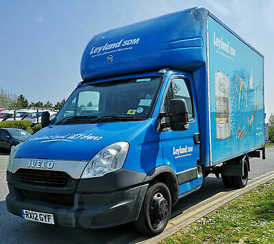 Iveco Daily Ford Transit Luton Removal Van Box Tail Lift Lwb Large 2012