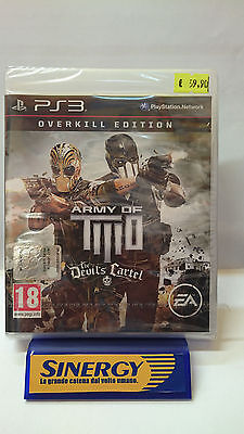 """""""ARMY of TITIO"""" overkill edition,the devil cartel - PLAYSTATION 3,nuovo sigillat"""