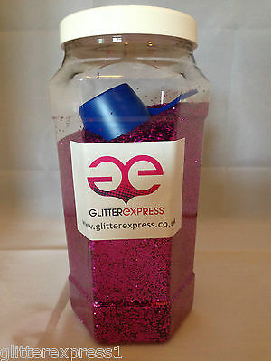Glitterexpress SPECIAL OFFER Craft Glitter Pack 6 x 1kg BAGS 040 Chunky