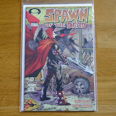 Spawn issue #223 (Walking Dead variant) | Image Comics