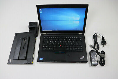 Lenovo T430 Core i7 3520M 8GB 500GB HDD Laptop Docking Station Type 4337 Win10