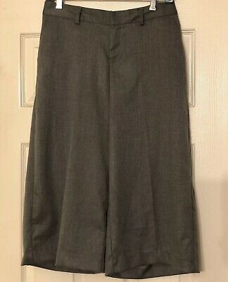 J. Crew Black Label Teddie Pants Cropped Kick Flare Teal Trousers Stretch Size 0
