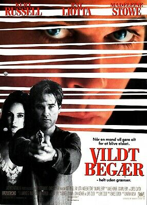 Unlawful Entry Kurt Russell Ray Liotta Vintage 1992 Danish Movie Press Release