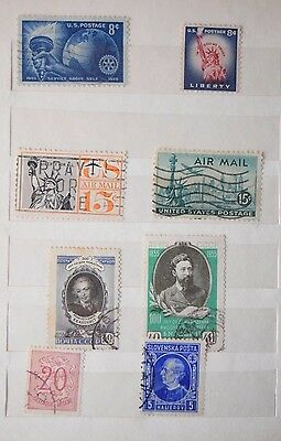 POST STAMPS COLLECTION Album Please see Vintage Excellent Ultra RARE