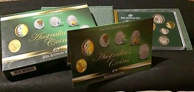 2004 RAM Six Coin Proof Set Box & Certificate With Holographic Coloured $1