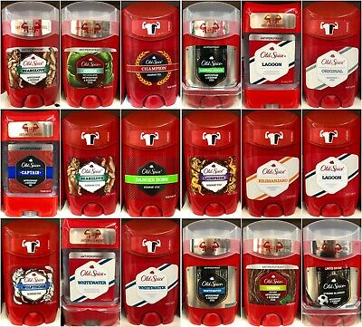 Old Spice Deo-Stick And Antiperspirant - 18 Different Scents