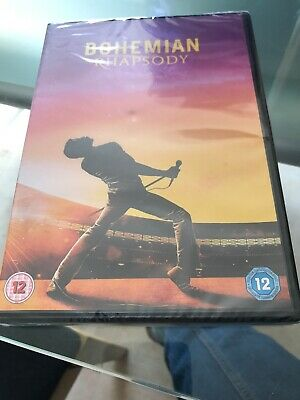 Bohemian Rhapsody - Queen (DVD 2019)  REGION 2