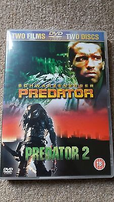 PREDATOR / PREDATOR 2 2-DVD Collection *NEW* UK Region 2 (Schwarzenegger/Glover)