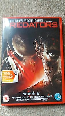 PREDATORS DVD (2010) *NEW* UK Region 2 (Adrian Brody) (Predator 3)
