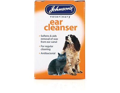Johnsons Ear Cleanser for cats & dogs 18ml