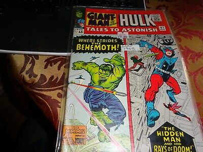tales to astonish 67.marvel silver age featuring giant man and hulk.