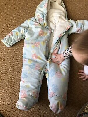6-9 Month Girl Snowsuit Babaluno