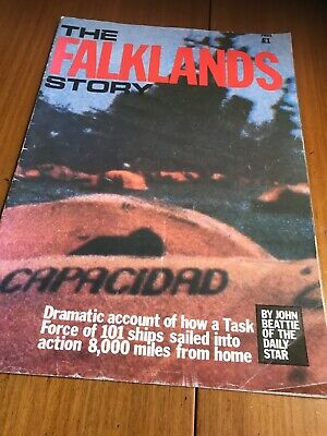 The Falklands Story Magazine by John Beattie of the Daily Star -1982 Publication