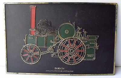 """Collectible The Steam Engine Tractor """"GOLIATH"""" 1902 Wallis & Steevens LIMITED"""