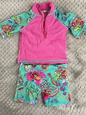 Baby Girl Beach, Swimsuit From Monsoon Age 0-3 Months