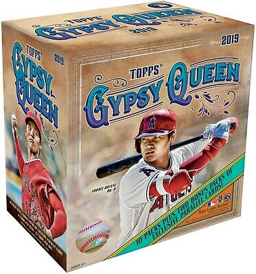 2019 Topps GYPSY QUEEN MONSTER BOX **Two Exclusive Parallel Packs**