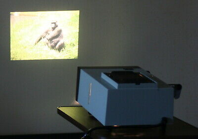 Hanimex Hanorama 300 Manual Slide Projector for Slides & Diapositives