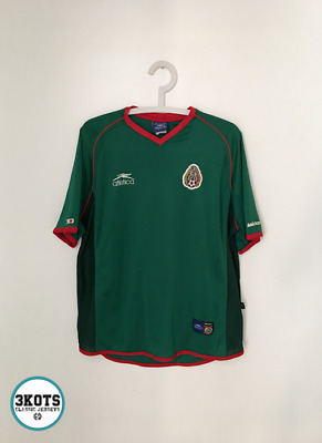 4b7148631 MEXICO 2002 03 Home Football Shirt (L) Soccer Jersey Vintage ATLETICA Maglia