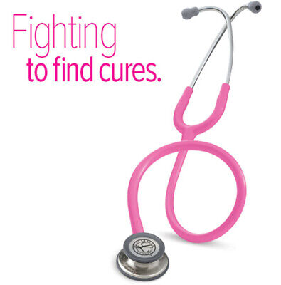 Littmann Classic III Stethoscope: Rose Pink Tube, Brest Cancer Awareness Edition