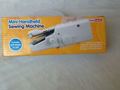 DGI Sewing Essentials Mini Hand Held Sewing Machine.