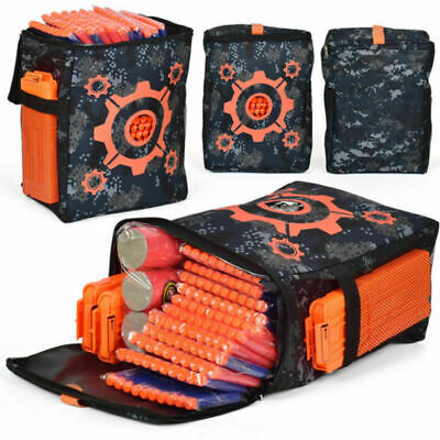 Small Target Pouch Blasters Bullet Darts Storage Bag for Nerf Elite Accessories