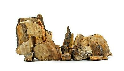 Fossilazed Wood STONE AQUARIUM IWAGUMI STYLE SET OF STONES AQUASCAPING NATURAL