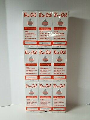 9 Bio-Oil 2 Oz Helps Improve The Appearance of Scars Stretch Marks ect.