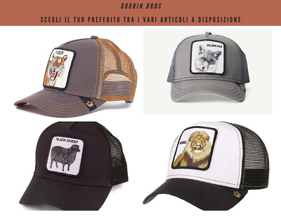Cappello Goorin Bros Modello Trucker Con Patch Animal