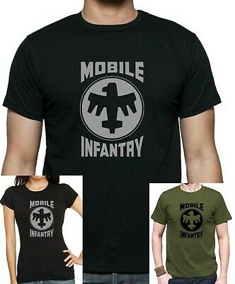 Mens and Womens STARSHIP TROOPERS : MOBILE INFANTRY T-Shirt up to 5xl