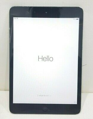 Apple Ipad Mini Wifi A1432 7.9' 16GB 512MB 5MP Grey/SOLD AS IS/Activation locked