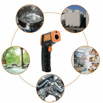 New Non-Contact LCD IR Laser Infrared Digital Temperature Thermometer Gun HOT