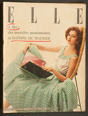 'elle' French Vintage Magazine Holiday Issue 10 August 1953