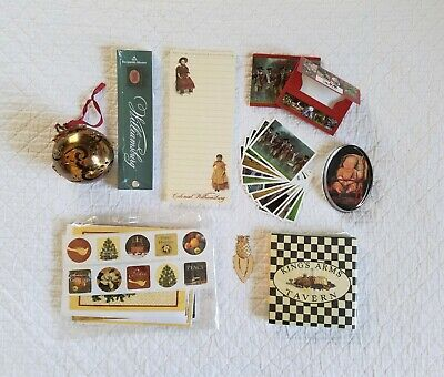 Colonial Williamsburg Lot of Assorted NEW Items for Office and Home