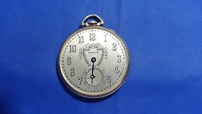 Jewelry & Watches Pocket Watches Antique Biltmore Atlantic Swiss 6j One Position Adjusted Open Face Pocket Watch