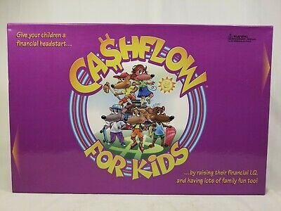Cashflow for Kids Board Game NEW Opened Rich Dad Poor Dad