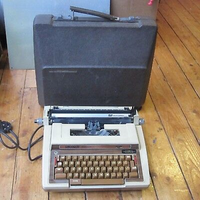 Smith Corona 3L Electric Electronic Typewriter Word Processor Wood Grain Tested