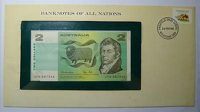 Banknotes of All Nations Australia 2 Dollars