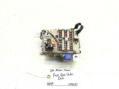 02 03 nissan maxima cabin junction fuse relay box oem 24350-3y300