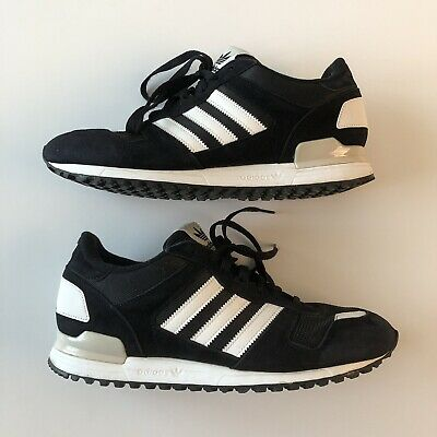 654a2c51d Adidas ZX 700 Running Shoes Athletic Sneakers Black Grey White Men s Size  10.5