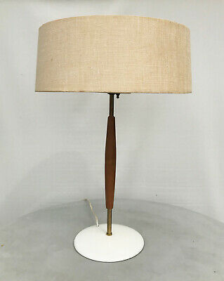 Gerald Thurston for Lightolier Table Lamp with Original Shade