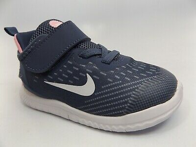 26ad888dd5872 Nike FREE  Toddler SZ 8C  Gray Pink Athletic Sneakers Shoes Hook And Loop