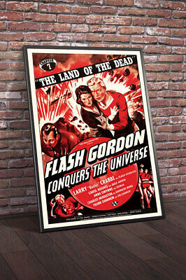 Flash Gordon Conquers The Universe 1940 Chapter 7 the Land of The Dead Movie ...